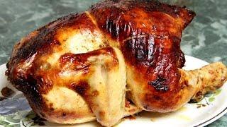 Как приготовить курицу в духовке с корочкой