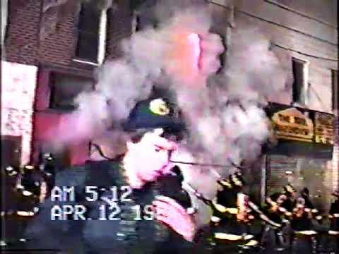 Oceanside FD (NY) Working Fire 1989