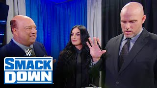 Paul Heyman aggravates Adam Pearce with Universal Title Contract changes: SmackDown, Jan. 15, 2021