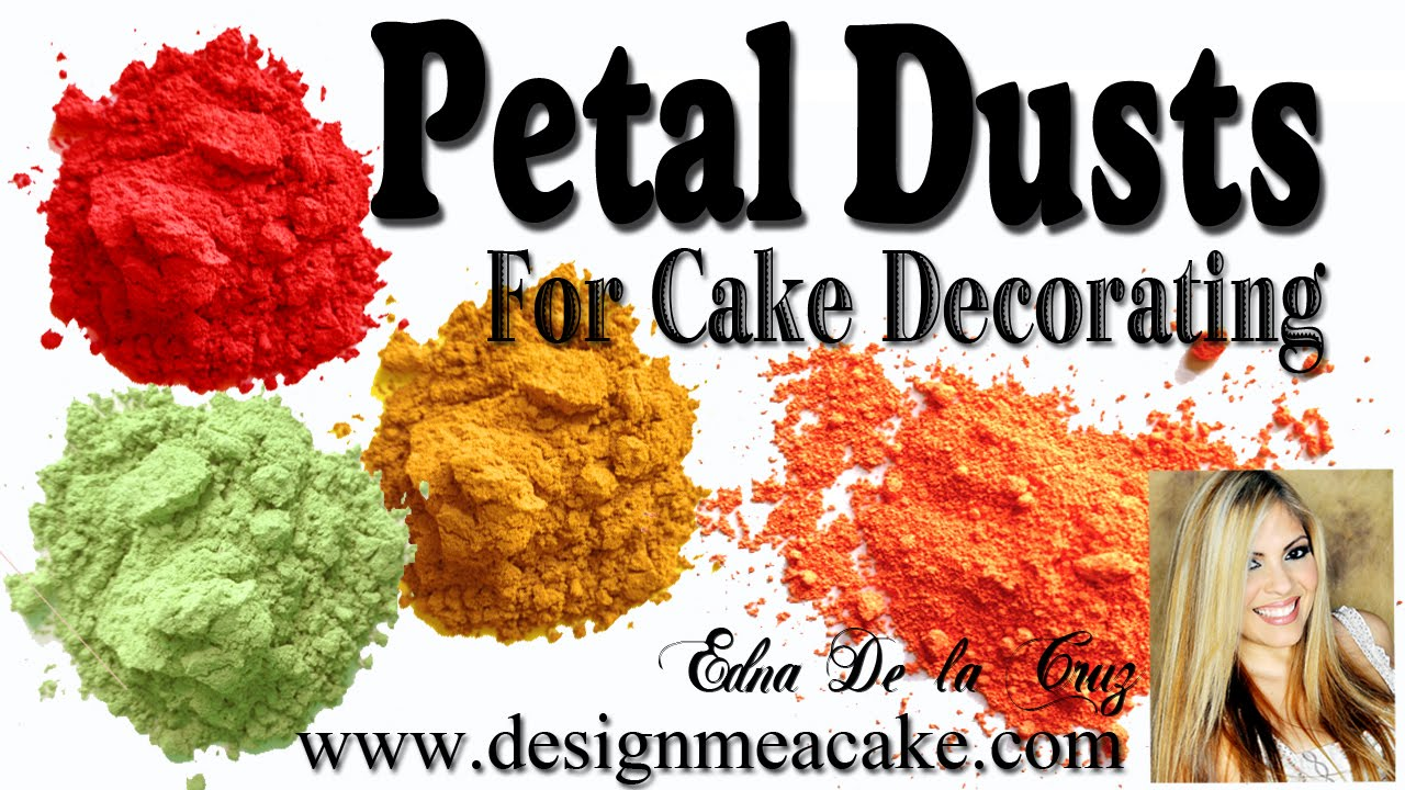 Cake Decorating Color Dust Explained