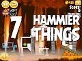 Angry Birds Seasons Hammier Things Level 1 7 Walkthrough 3 Star mp3