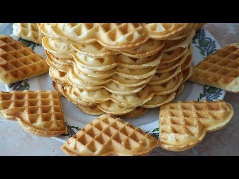 ВАФЛИ в электровафельнице классический рецепт/ Waffles