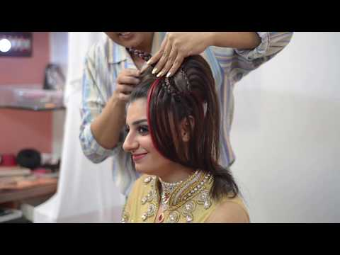 Indian Western Bridal - Jayshree Brahmbhatt - HairStyle