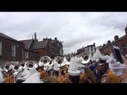 LSU Tiger Band Tubas and Drumline Earthquake in Ireland