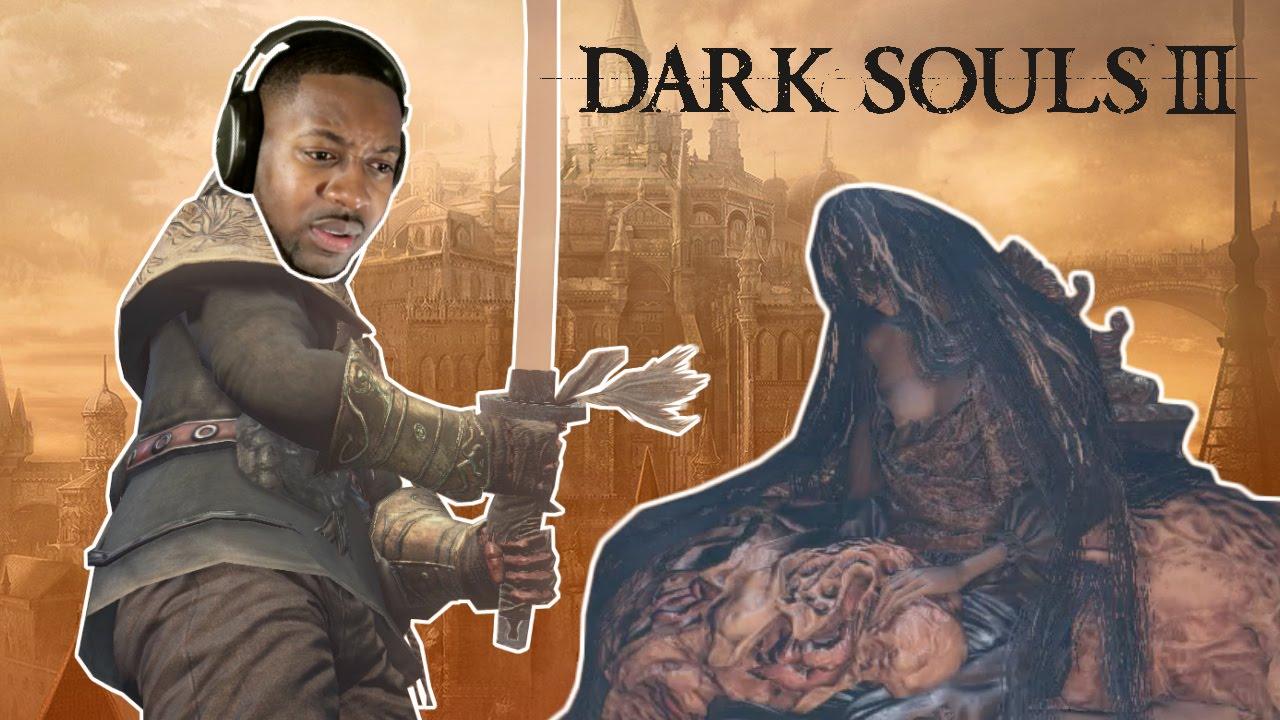 Dark Souls 3 Darkdrift - The Invisible Katana + Rosaria's Fingers Covenant | Red Sign Soapstone