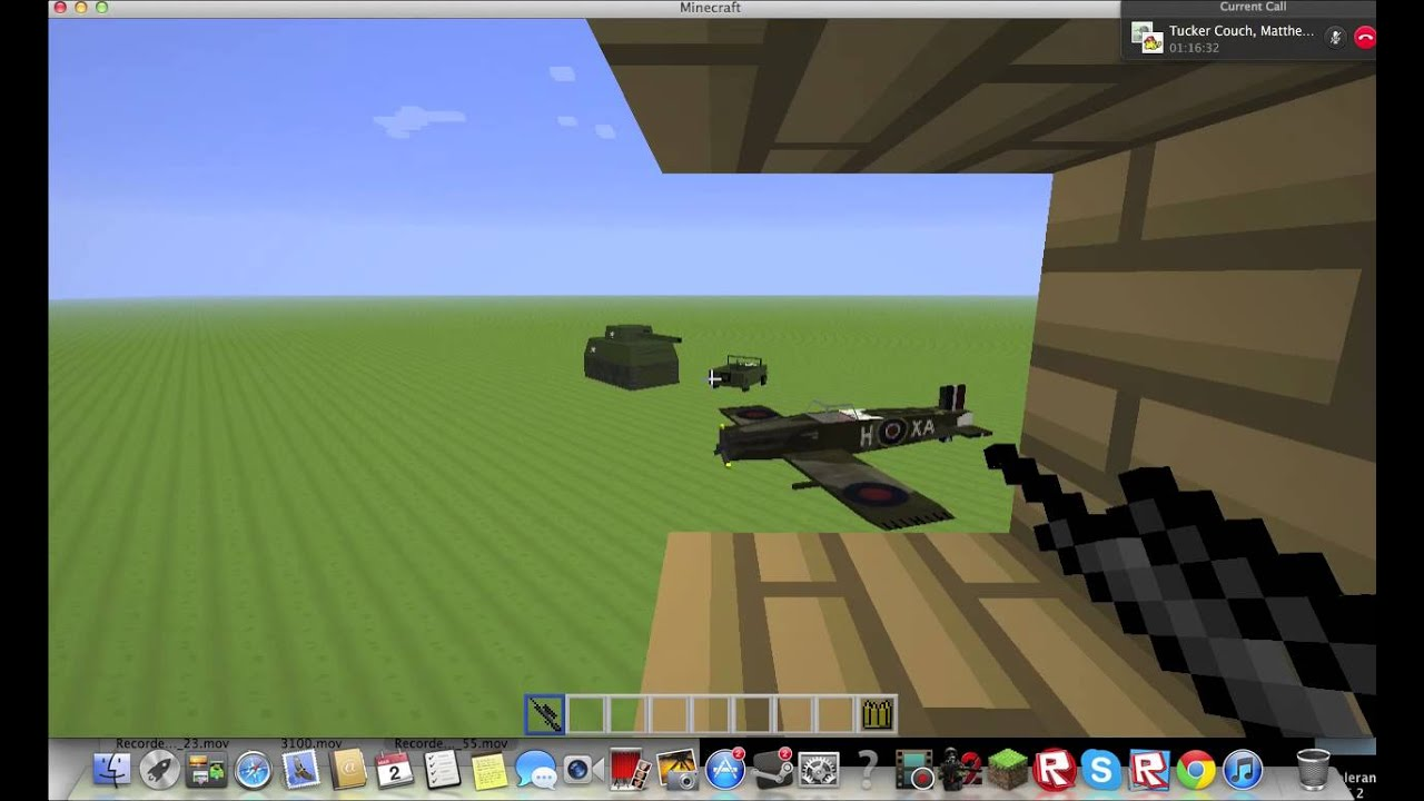 Minecraft World War II Kovacics Mod Pack Review YouTube