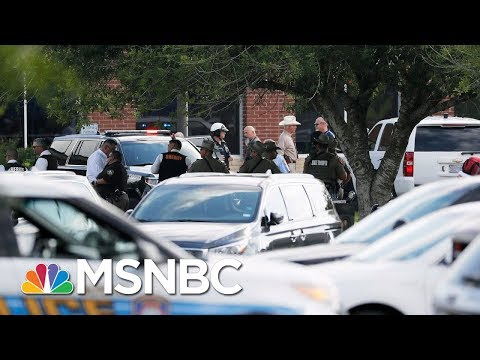 Santa Fe Gunman In Custody Is 17-Year-Old Male Student | Andrea Mitchell | MSNBC