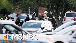 Santa Fe Gunman In Custody Is 17-Year-Old Male Student | Andrea Mitchell | MSNBC