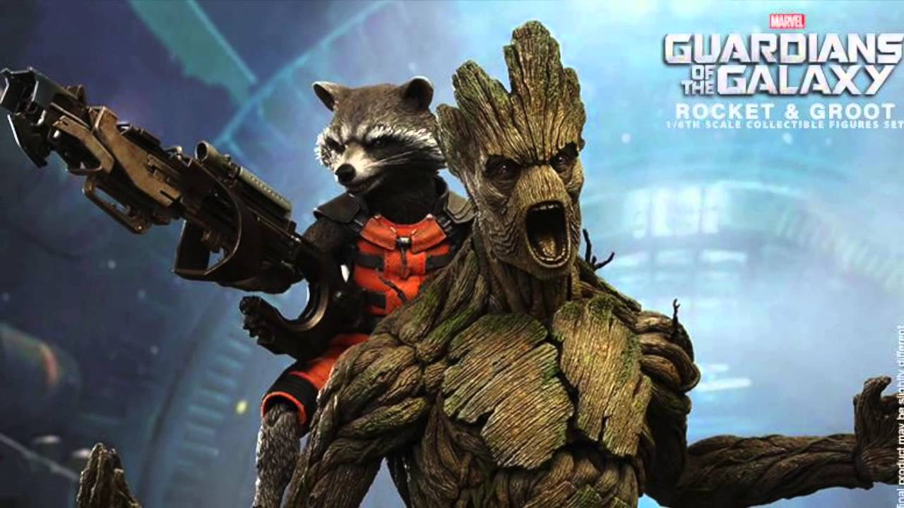 3d Live Wallpaper For Galaxy Y Guardians Of The Galaxy Hot Toys Rocket Raccoon Amp Groot 1