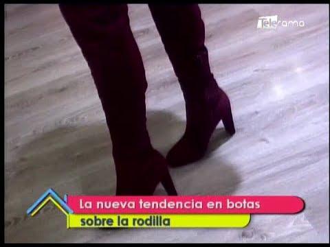 La nueva tendencia en botas sobre la rodilla