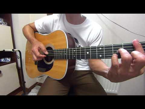 水彩の月 秦基博 アコースティックギター弾き語りCOVER