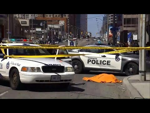 Van plows through pedestrians at Yonge and Finch