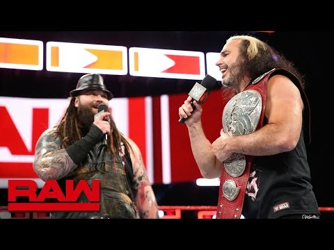 The Deleters of Worlds await the Tag Team Battle Royal: Raw, June 4, 2018