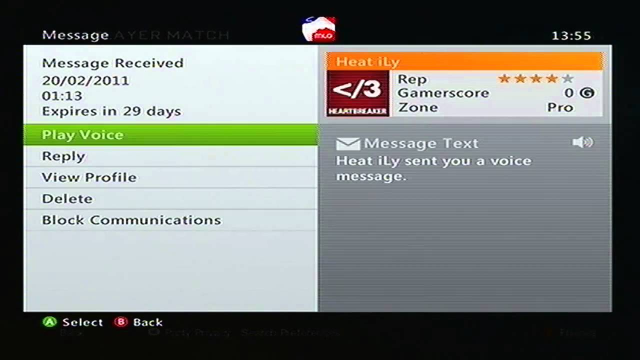 Sad Offer Message On Xbox Live By Heat Ily A 13 Year Old Kid He Want My Account No Youtube
