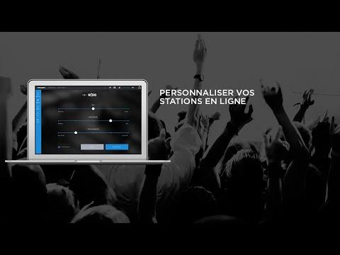Guide du lecteur Web - Personnaliser vos stations en ligne