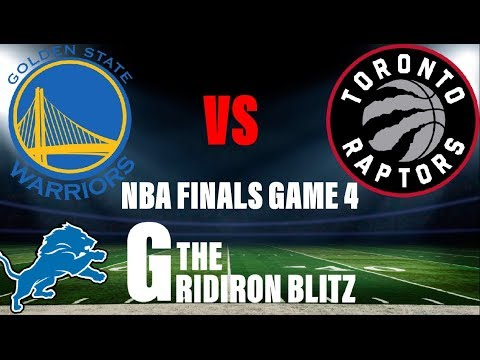 nba-finals:-golden-state-warriors-vs-toronto-raptors-game-4