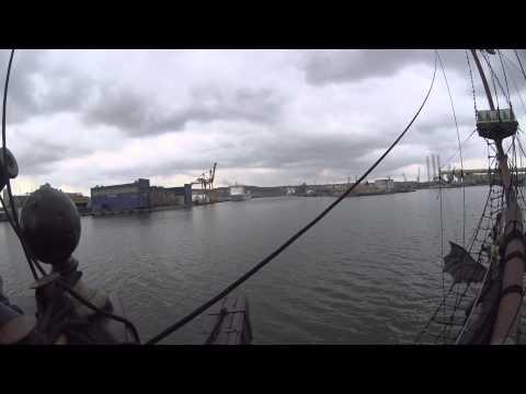 Прогулка морем на корабле ДРАКОН +Гдыня Сточня