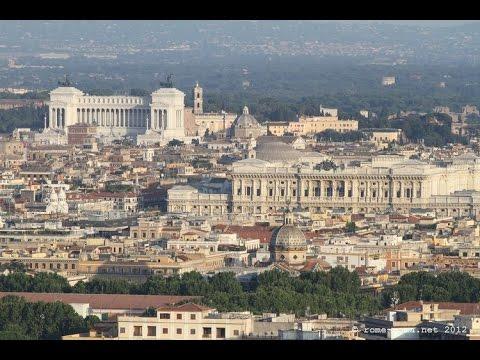 Terrazze panoramiche di roma ( roma ) - YouTube