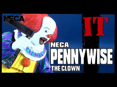 Toy Spot   NECA IT (1990) Pennywise The Clown Figure