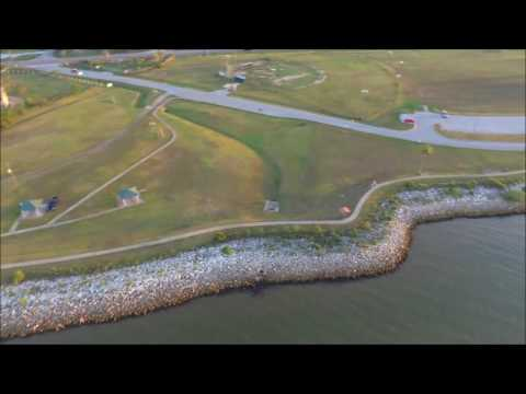 San Leon, TX Spillway With My Drone