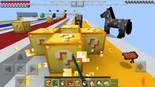 Продолжение, Minecraft Lucky Block Race.