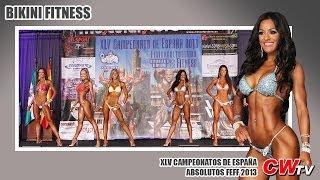 Culturismo: Campeonatos de España Absolutos FEFF 2013. BIKINI FITNESS (Culturismoweb TV)
