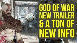 God of War PS4 NEW TRAILER Commercial, A LEAK & More! (God of War 4 - God of War 5 - God of War News