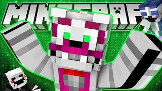 Minecraft Fnaf: Sister Location - Funtime Foxy Catches A Cold (Minecraft Roleplay)