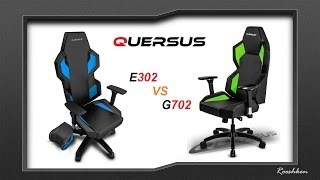quersus e302 vs quersus g702 porwnanie foteli