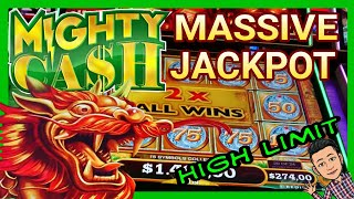 ⚠ MASSIVE JACKPOT !! MIGHTY CASH SLOT | HIGH LIMIT BET [Oct 2019] Ep #1/SUBSCRIBE EDUCASINO !!