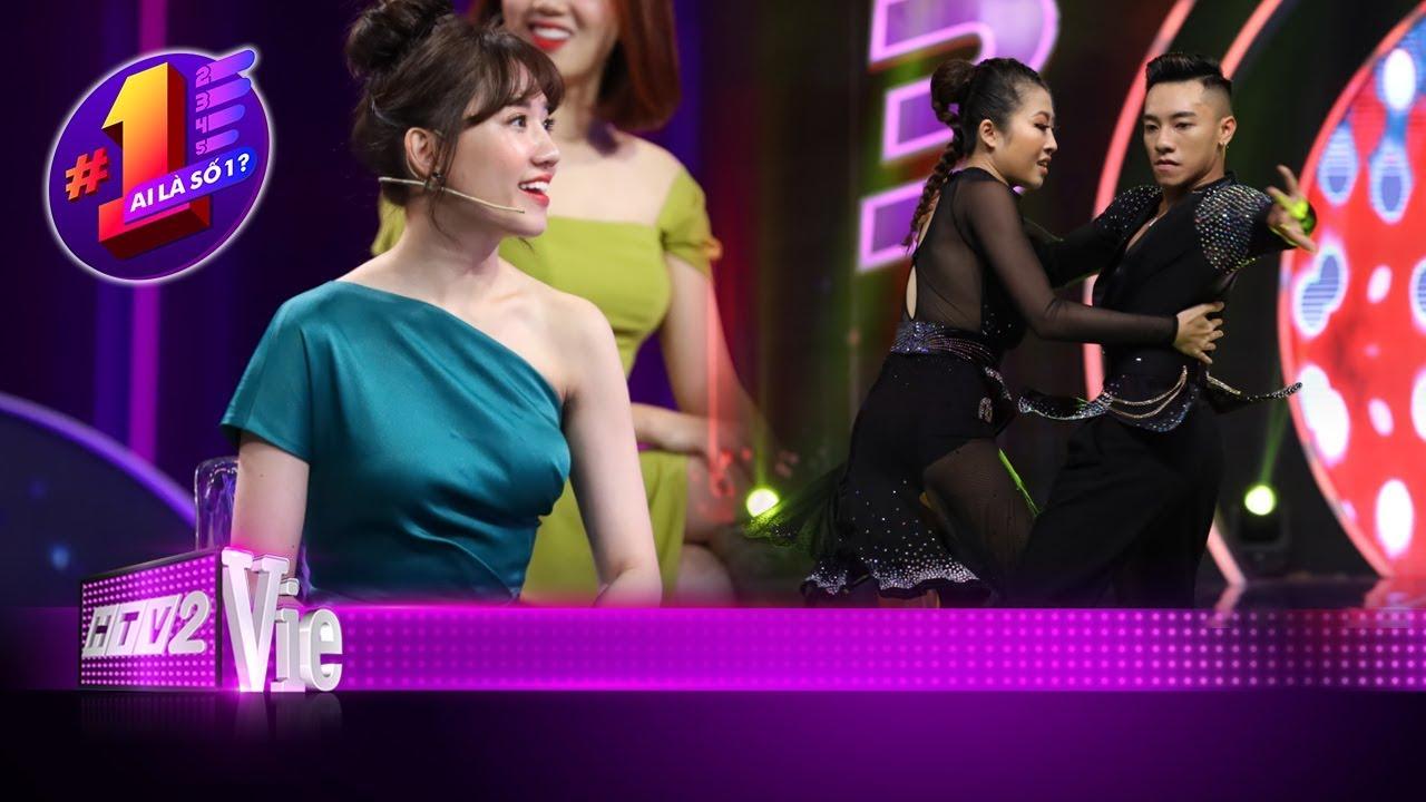 image Hari Won bị hớp hồn bởi màn biểu diễn của kiện tướng Dancesport Tuấn Đạt | #12 AI LÀ SỐ 1?