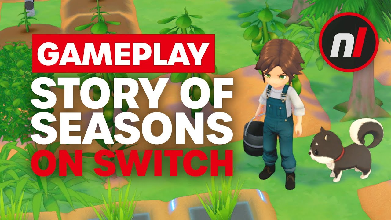 NEW Story of Seasons: Pioneers of Olive Town Nintendo Switch Gameplay