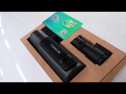 Camera hành trình Hàn Quốc Blackvue DR750-2CH LTE lắp Fortuner