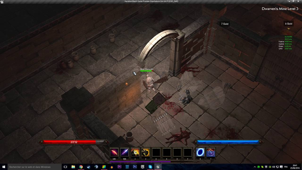 Multiplayer action rpg prototype full blueprint unreal engine next steps are npcs dialog quest system going to be a lot of fun malvernweather Images