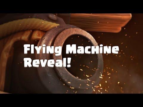 Clash Royale: FLYING MACHINE (New Clash Royale Card!)