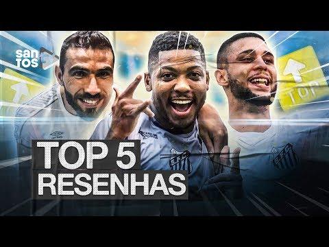 TOP 5 | RESENHAS DO SANTOS EM 2019