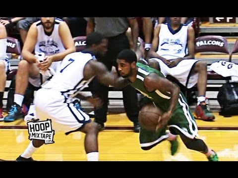 outlet store 74aef 103ed Kyrie Irving Sick Shammgod And Dunk Down The Lane! 2 Dope Plays At ...