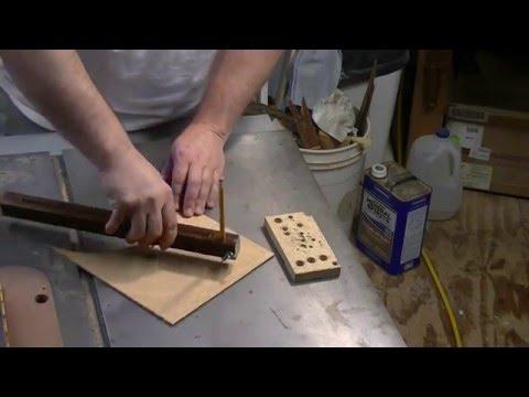 Making John Heisz' beam compass