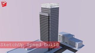 Video SketchUp Speed build - Skyscraper #6 download MP3, 3GP, MP4, WEBM, AVI, FLV Desember 2017
