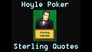 Hoyle Poker - Sterling Quotes