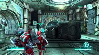 Transformers Fall of Cybertron Demo Multiplayer Gameplay Part 2 - Speeding With the Infiltrator