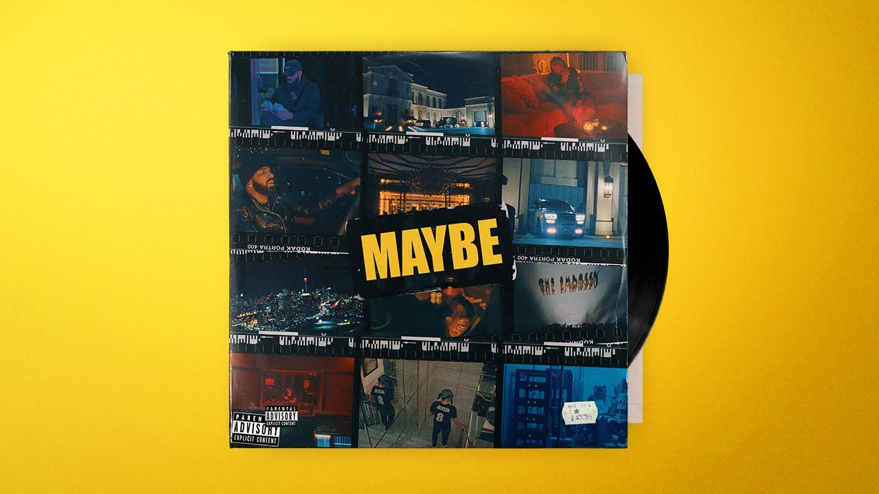 """(FREE) Drake Type Beat 2021 - """"MAYBE"""""""
