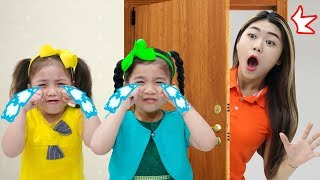The Boo Boo Story Song | Suri & Annie Pretend Play Nursery Rhymes Songs for Kids