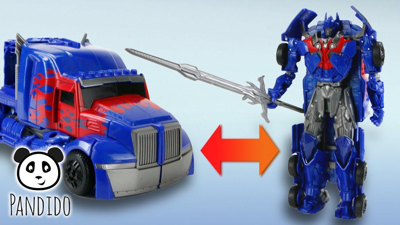 Transformer optimus prime spielzeug ausgepackt und
