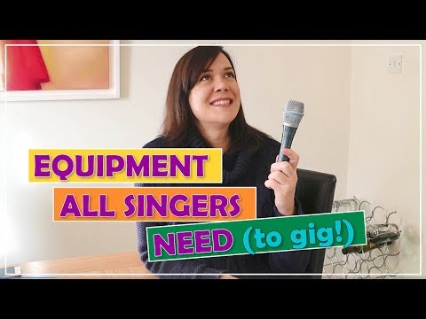 Music Equipment All Singers NEED To Gig