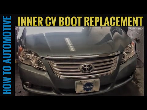 How to Replace the Passenger Side Inner CV Boot on a 2008 Toyota Avalon