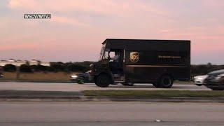 Florida UPS Truck shootout captured on video