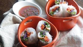 Lobster Spring Rolls & Spicy Dipping Sauce