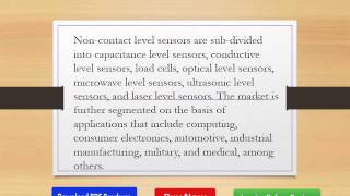 Future Trends in Asia Pacific Level Sensor Industry