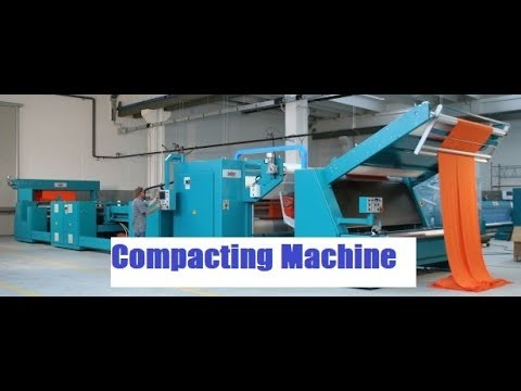 Compacting Machine for Knitted Fabric's Shrinkage ,Width ,GSM Control